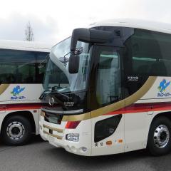 ワイドバスは2台!